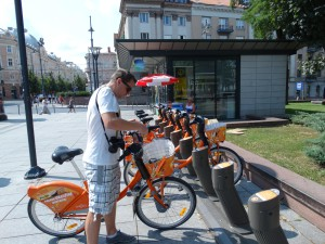 Gemakkelijk een fiets huren in Vilnius