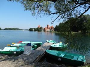 Huur een bootje in Trakai
