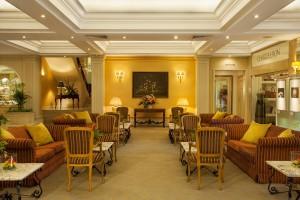 De Lobby van het hotel