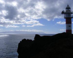 De vuurtoren bij Punta de Teno