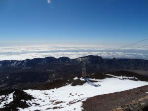 Uitzicht vanaf de Teide
