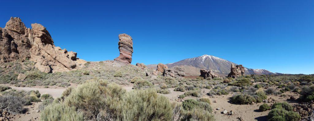 Panorama van NP Teide