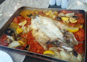 Heerlijke vis in Selale Restauran