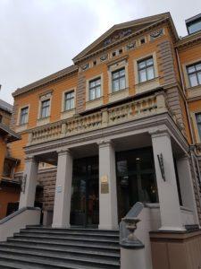 Gallery Park Hotel & Spa Entrance