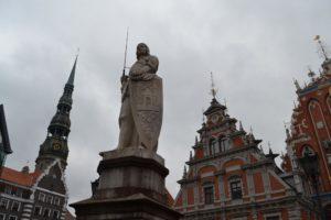 Het centrum van Riga