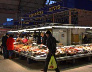 De Markthal van binnen