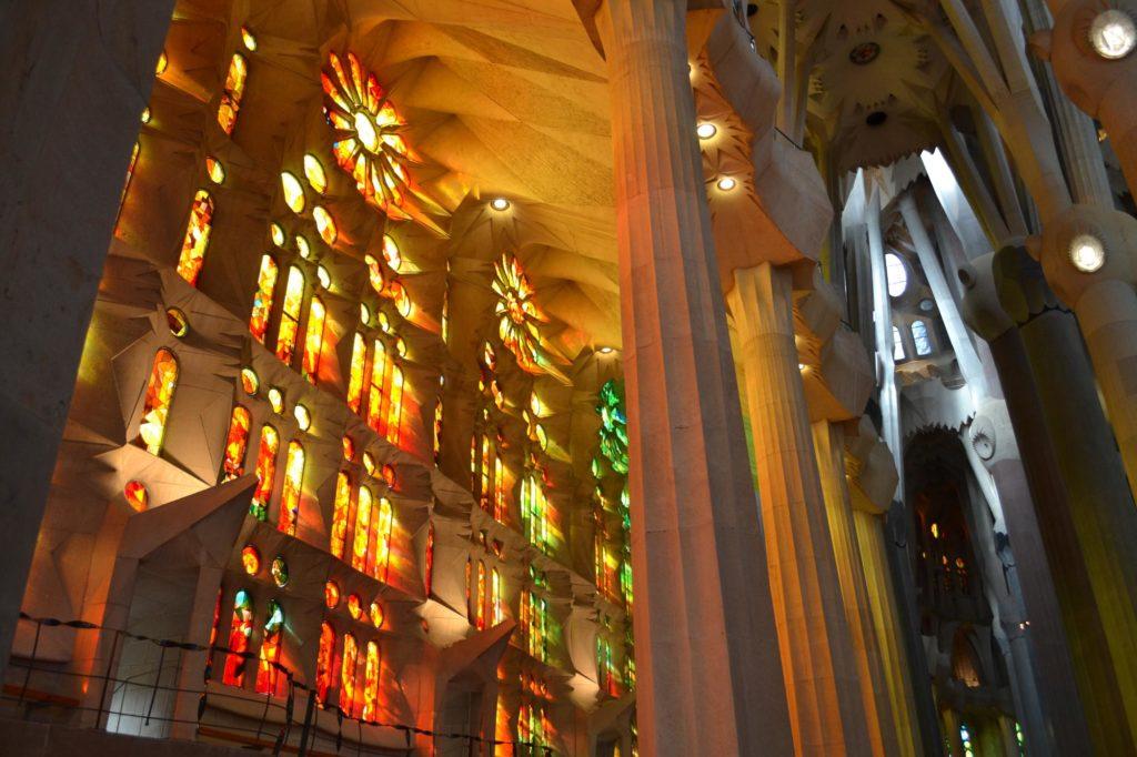 Sagrada Familia van binnen