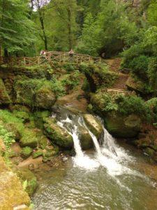 De drieteen waterval